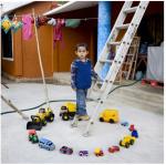 Los niños y sus juguetes