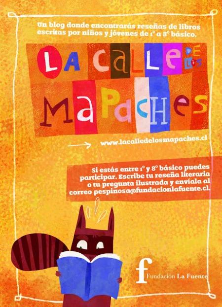 afiche de mapaches