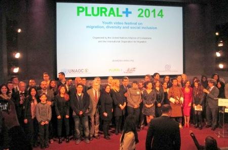 Foto de familia del Festival PLURAL+ 2014